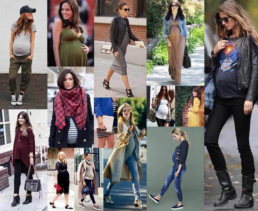 Come vestirsi in gravidanza per essere chic. - MammaPoppins aadb06525ff